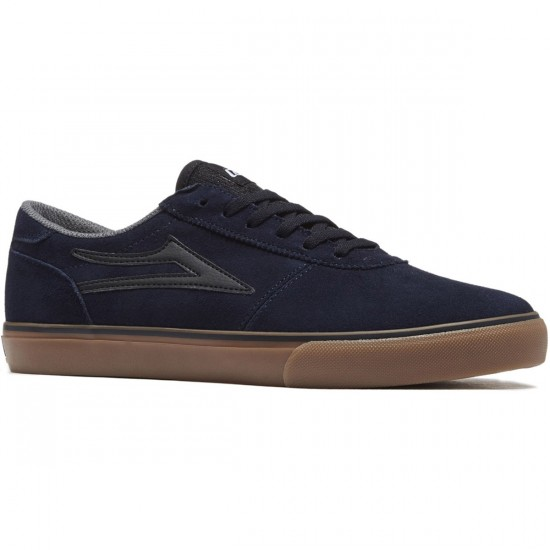 Lakai Manchester Shoes - Navy/Gum Suede - 8.0
