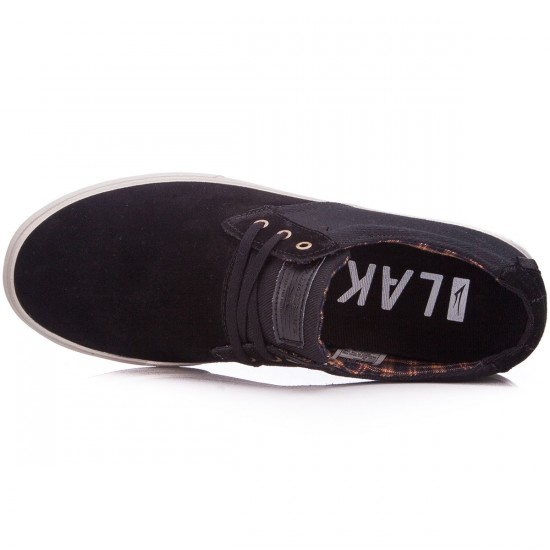 Lakai MJ Shoes - Black/Suede - 11.0