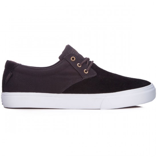 Lakai MJ Shoes - Black/White Suede - 6.0