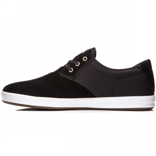 Lakai MJ XLK Shoes - Black Suede - 8.0