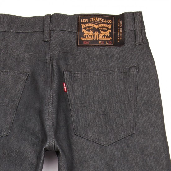 Levi's Skate 504 Straight 5 Pocket SE Jeans - Rigid Grey - 30 - 32
