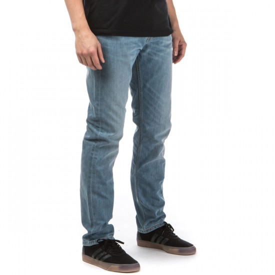 Levi's 513 Slim Straight Jeans - Waller Blue - 31 - 30