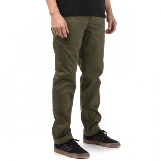Levi's Work Pants - Ivy Green Twill - 33 - 32