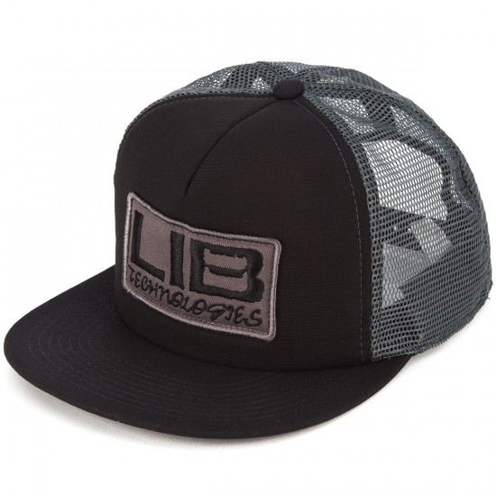 Lib Tech Full Service Trucker Hat - Black