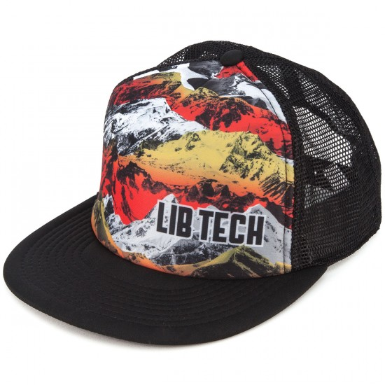 Lib Tech Zimmo Trucker Hat - Black