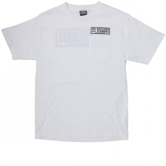 Loser Machine Behavior Pocket T-Shirt - White
