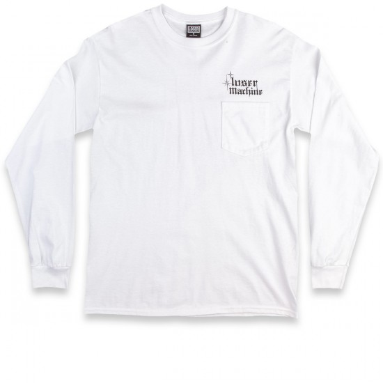 Loser Machine Cee-Lo Long Sleeve T-Shirt - White