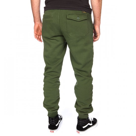 LRG Armament Fleece Jogger Pants - Dark Olive