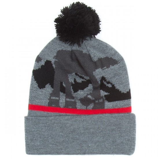 LRG At-At Motherland Pom Beanie - Charcoal