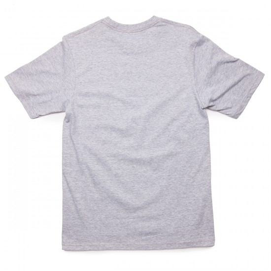 LRG Rocky Lock Up T-Shirt - Ash Heather