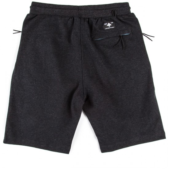 LRG Dumont Shorts - Black Heather