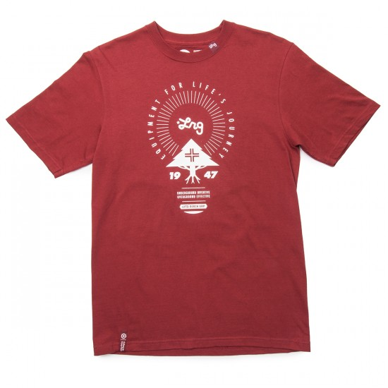LRG Equipment For Life T-Shirt - Maroon