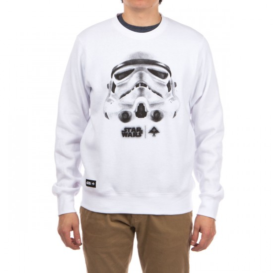 LRG Face Of War Crew Sweatshirt - White