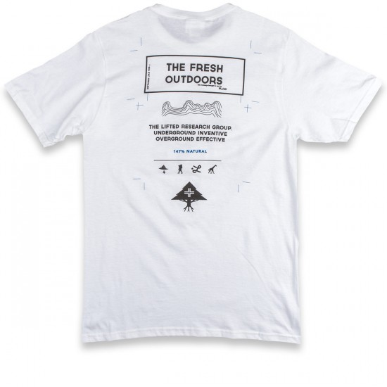 LRG RC Fresh Outdoors T-Shirt - White