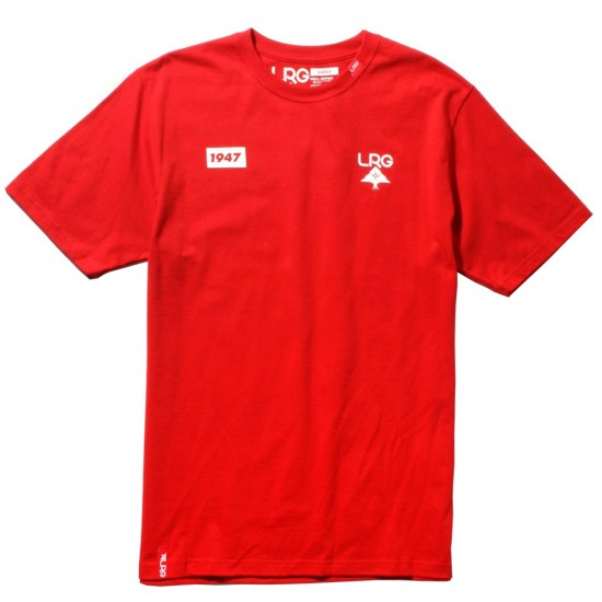 LRG High Lock Up T-Shirt - Red