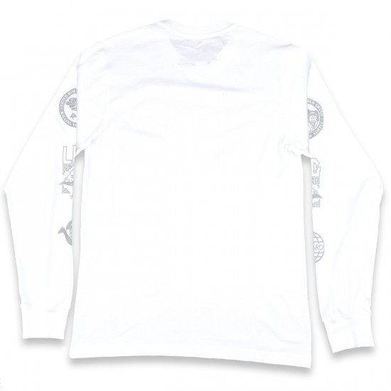 LRG Kata Reflective Long Sleeve T-Shirt - White