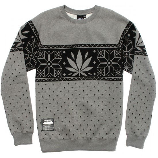 LRG Kine Alpine Sweatshirt - Charcoal Heather