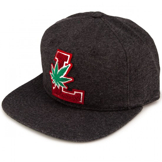 LRG Lifted Degenerates Hat - Black Heather