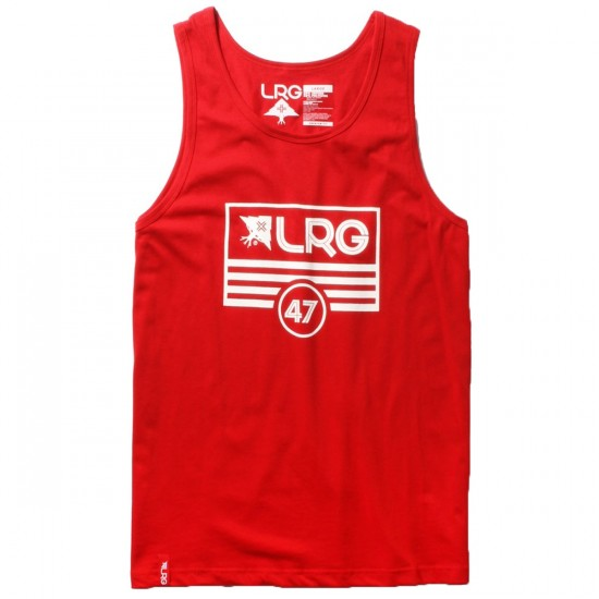 LRG Lifted Flag Tank Top - Red