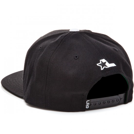 LRG Lifted Snap Back Hat - Black