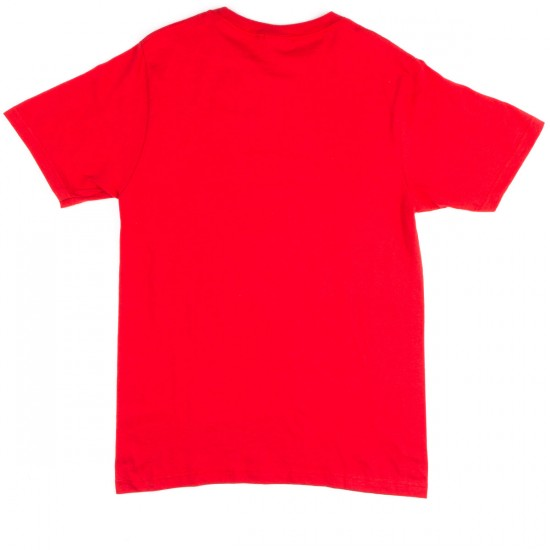 LRG Measure Twice Cut Once T-Shirt - Red
