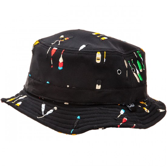 LRG Natical By Nature Bucket Hat - Black - LG/XL