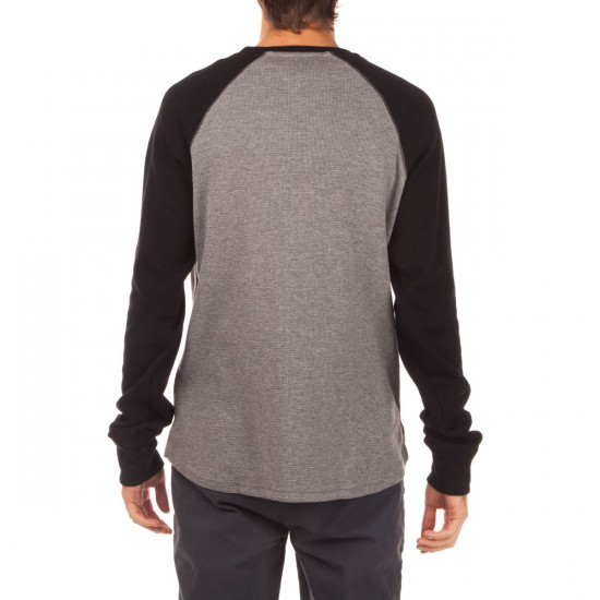 LRG Raglan Thermal Shirt - Black
