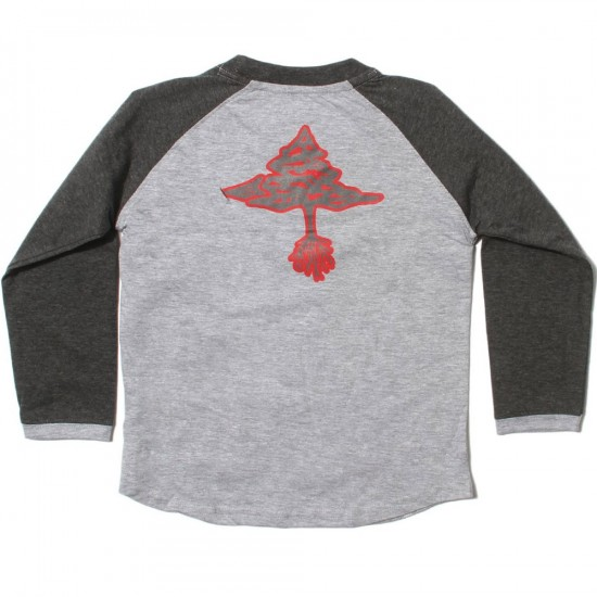 LRG RC Baseball T-Shirt - Ash Heather