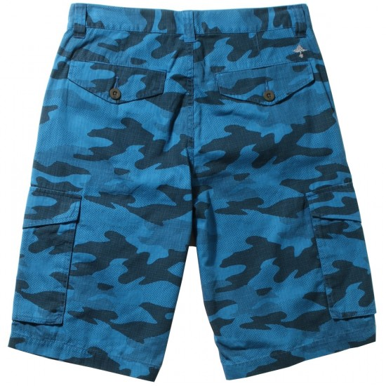 LRG RC Cargo Shorts - Blue Camo