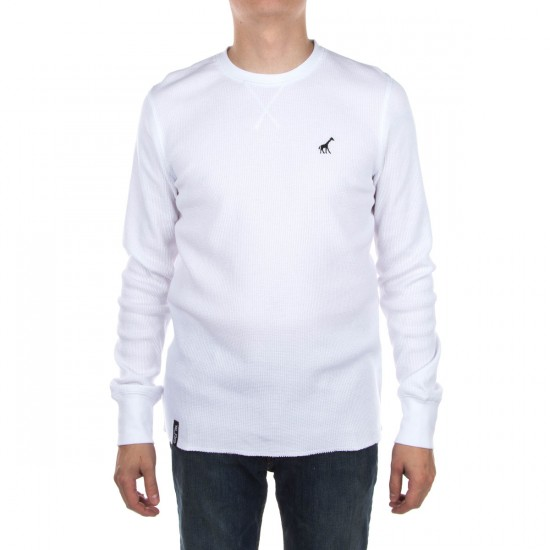 LRG RC Solid Thermal Shirt - White