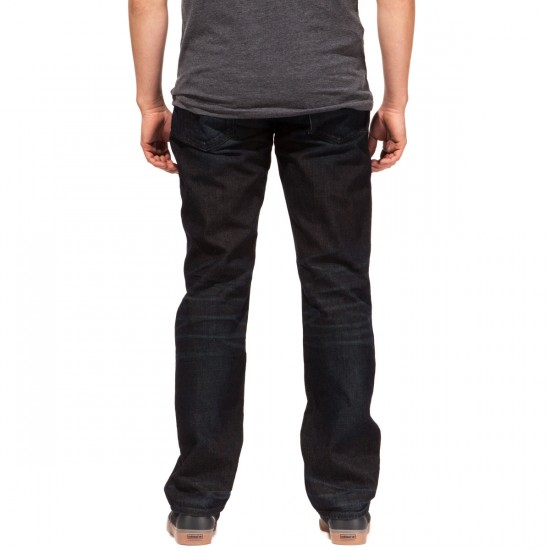 LRG RC True Straight Fit Jeans - Bronze Indigo - 30 - 32