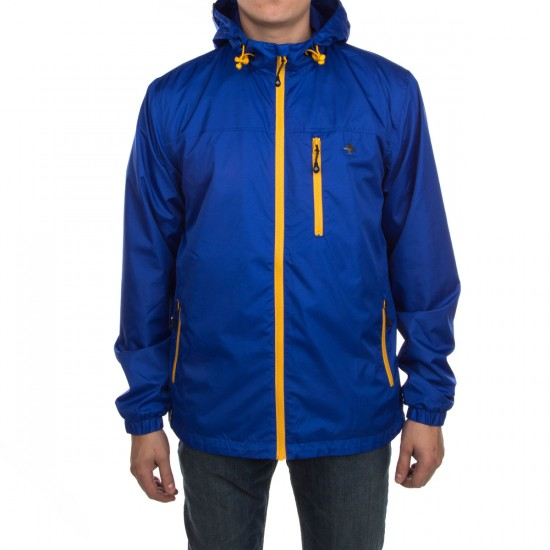 LRG RC Windbreaker Jacket - Deep Cobalt
