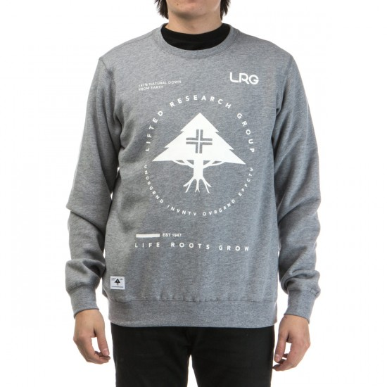 LRG Research Collection Crewneck Sweatshirt - Ash Heather
