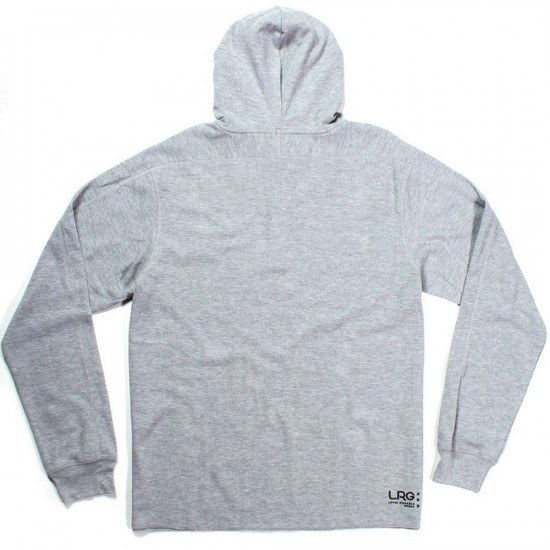 LRG Research Collection Pullover Hoodie Sweatshirt Shirt - Ash Heather