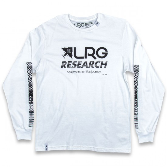 LRG Research Collection Long Sleeve T-Shirt - White