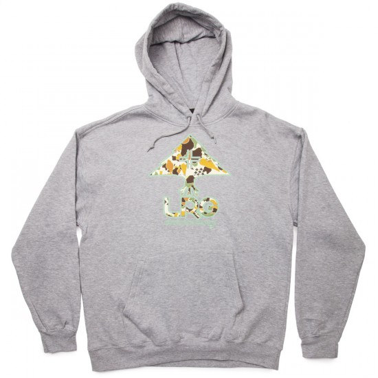 LRG Research Collection Pullover Hoodie - Ash Heather