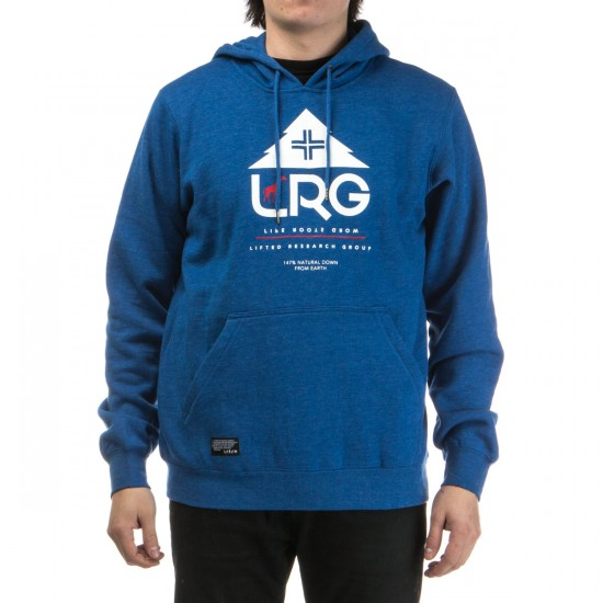 LRG Research Collection Pullover Hoodie - Blue Heather