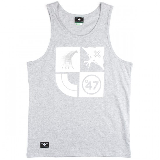 LRG Research Collection Tank Top - Ash Heather