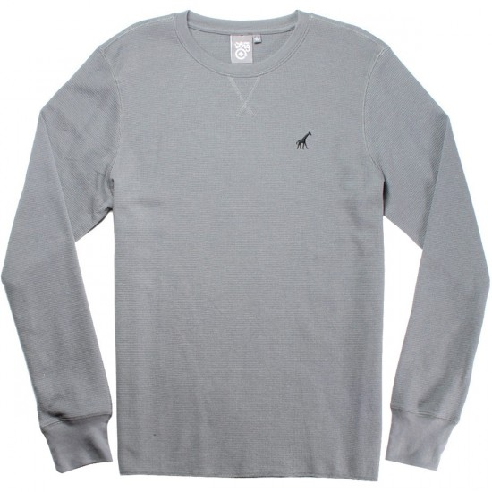 LRG Research Collection Thermal Shirt - Charcoal