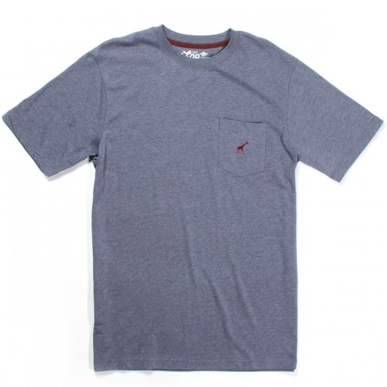 LRG Research Collection Tri-Blend Pocket T-Shirt - Nautical Blue