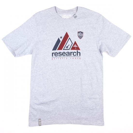 LRG Research Roots T-Shirt - Ash Heather