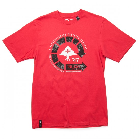 LRG Resolutionary Cycle Logo T-Shirt - Red