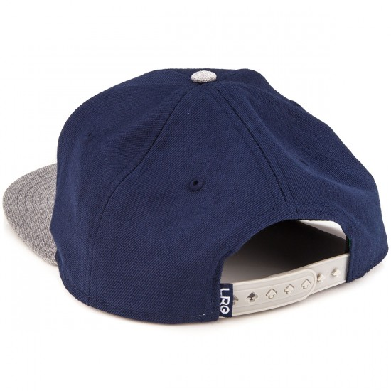 LRG RS Group Snapback Hat - Navy