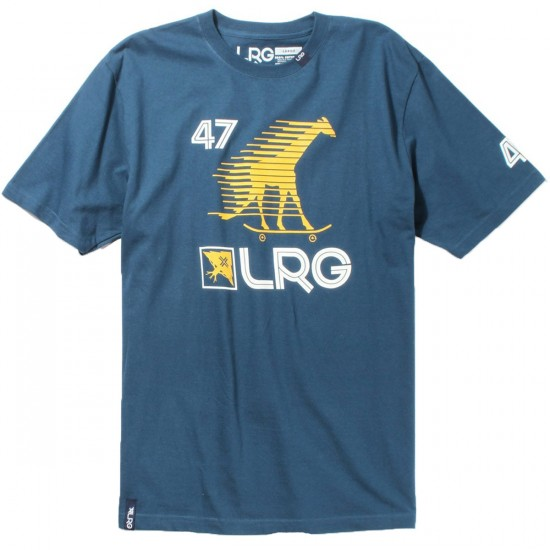 LRG Skate Giraffe Sport T-Shirt - Nautical Blue