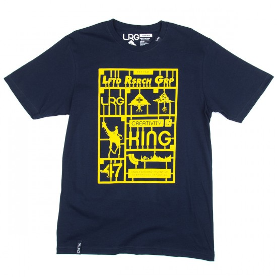 LRG Snap Together T-Shirt - Navy
