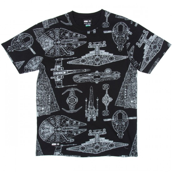 LRG The Blueprint T-Shirt - Black