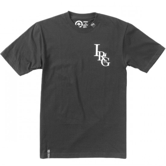 LRG Three Letter T-Shirt - Black