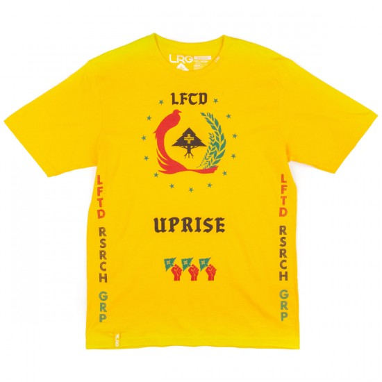 LRG Uprisers T-Shirt - Gold