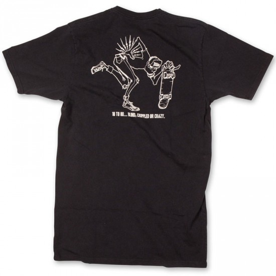 Matix Aged T-Shirt - Black