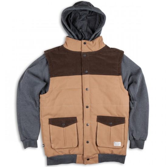 Matix Asher Bedford Fleece Jacket - Rubble